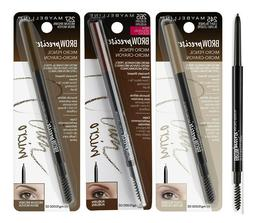 Maybelline Brow Precise Micro Eyebrow Pencil + Gromming Brus