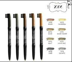 ❤ 1 NEW! SEALED NYX AUTOMATIC EYE BROW PENCIL WITH BRUSH E