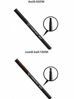 2 PCS ABSOLUTE New York Perfect Eyebrow Pencil. BLACK,DARK B