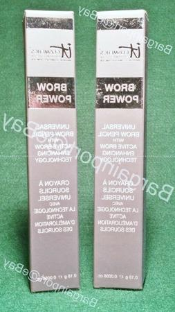 2X IT Cosmetics ~ Brow Power ~ Universal Eyebrow Pencil ~ Fu