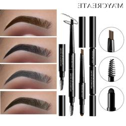 3 in 1 Eye Brow Set for Women Waterproof Brow Pencil + Powde