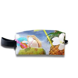 3D Pineapple Sunshine Juice Coconut Multi-Function Key Purse