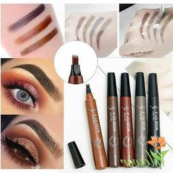 4 Fork Brow Eyebrow Pencil Three Dimensional Durable Waterpr