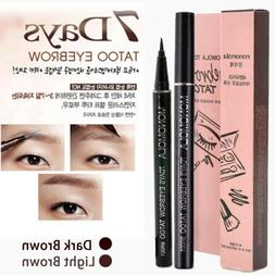 7 Days Long Lasting Eyebrow Tattoo Pen Pencil Liner Eye Make