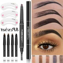 Automatic Rotate Eyebrow Pencil With 5 Colors Refill Lead Br