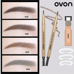 Automatic Rotation Eyebrow Pencil 3 Replacement Refills 3 Ey