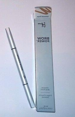 brow power eyebrow pencil universal taupe full