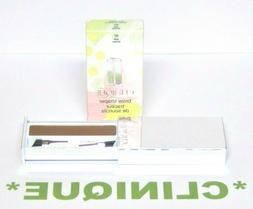 """CLINIQUE Brow Shaper in """"07 SOFT BROWN""""  w/ 2 Brushes FULL S"""
