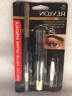 Revlon Colorstay Brow Collection: Blonde, Soft Brown, Dark B