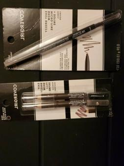 COVER GIRL EYE BROW PENCIL LOT OF 2 NIP   RICH BROWN / SOFT