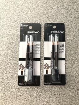 Covergirl Easy Breezy Brow Eyebrow Pencils #505 Rich Brown S