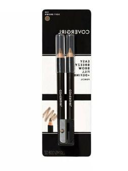 CoverGirl Easy Breezy Brow Fill + Define Eyebrow Pencils 505