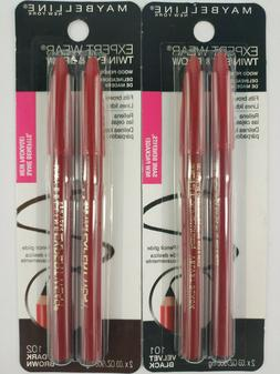 expert wear twin eye and brow pencils