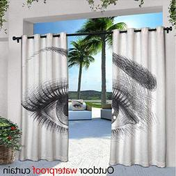eye privacy curtain