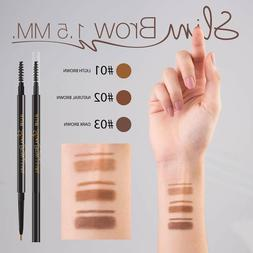 4U2 Eyebrow Brow Liner Auto Pencil Slim Tip Waterproof Smude