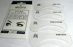 EYLURE Eyebrow Brow Stencils   Pre Shaped Arches For Precise