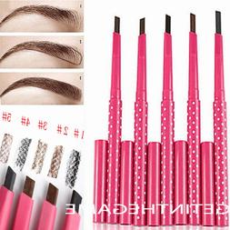 Eyebrow Eye Pencil  Brow Makeup Cosmetics Waterproof Liner E