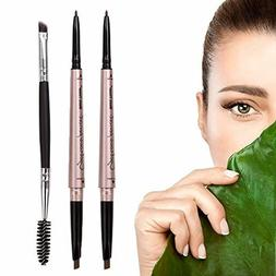 Eyebrow Makeup Pencil With Dual Ends Professional Brow Kit W