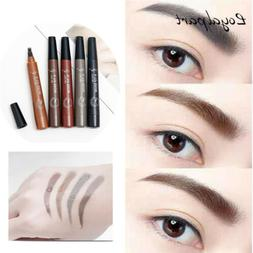 Eyebrow Pencil Microblading Eyebrow Pen Waterproof Fork 4 Ti