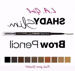LA Girl Eyebrow Pencil - Retractable Skinny Tip & Brush- Nat