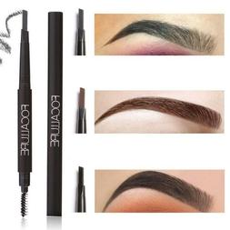 FOCALLURE Waterproof Long Lasting Eyebrow Shaper Pencil Brus