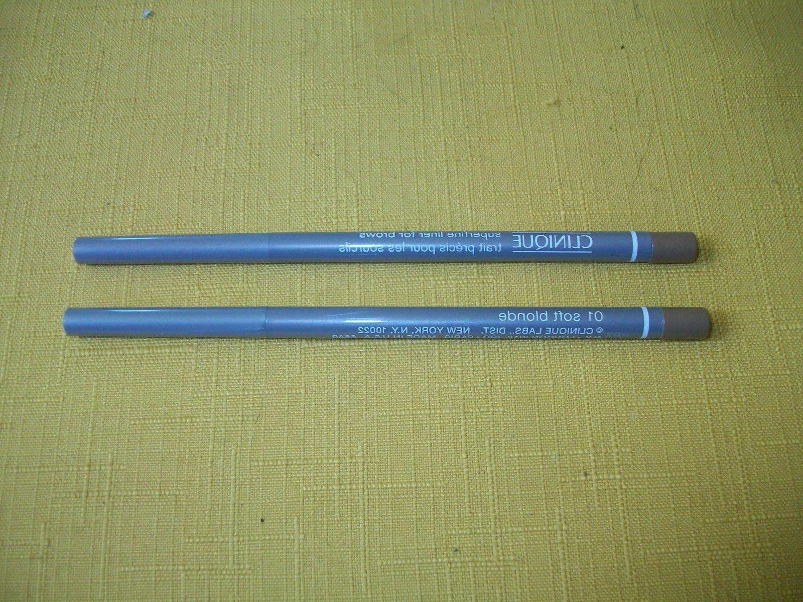 Eyebrow Liner - CLINIQUE SUPERFINE - Soft Blonde 01 - FULL