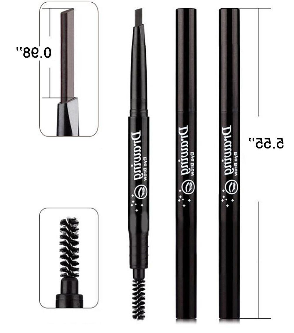 2 Pack Retractable Tip with Brush Double-end Waterproof