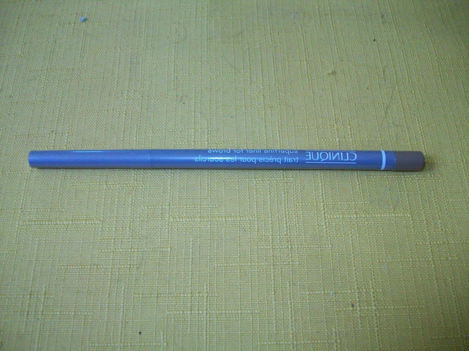Eyebrow Liner Pencil - CLINIQUE - SUPERFINE - Soft Blonde 01
