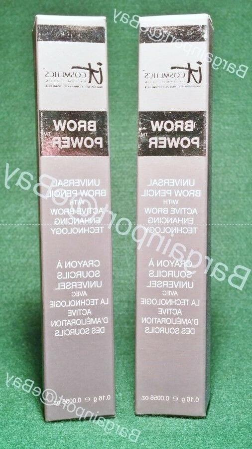 2X Brow Power ~ Eyebrow Pencil ~ Full Size TWO