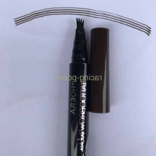 2Pcs Brow Pencil Microblading Eyebrow Ink Pen