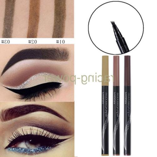 2x patented microblading tattoo eyebrow ink pen