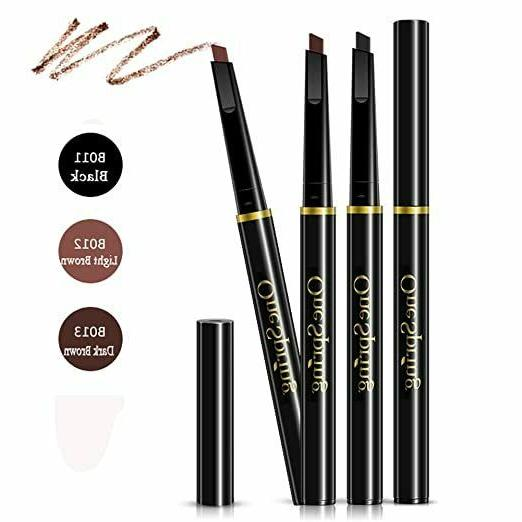3 Colors to Choose Automatic Waterproof Eyebrow Pencil