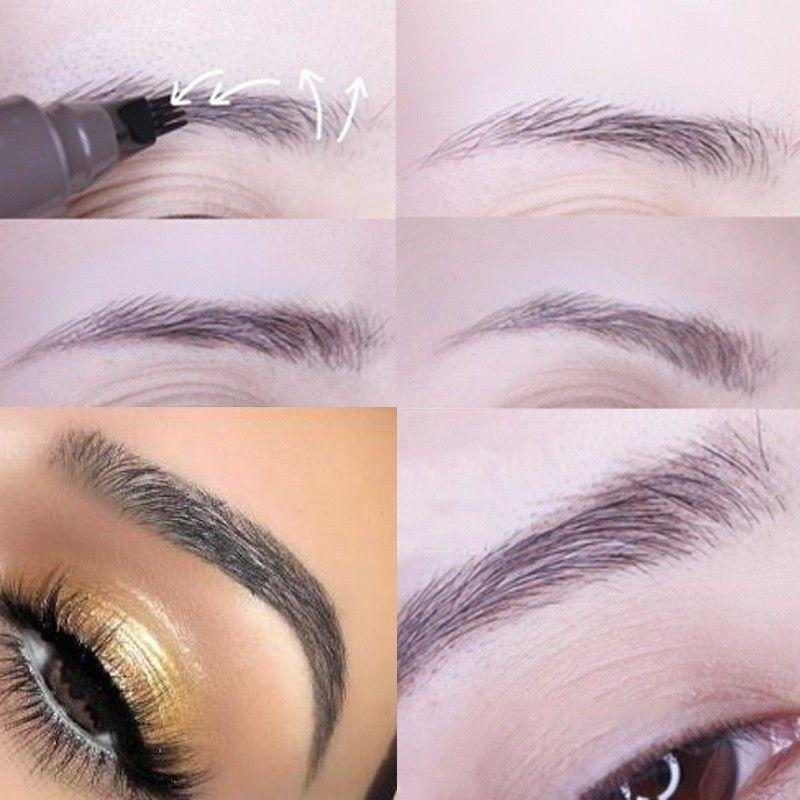 4 Eyebrow Pencil Waterproof