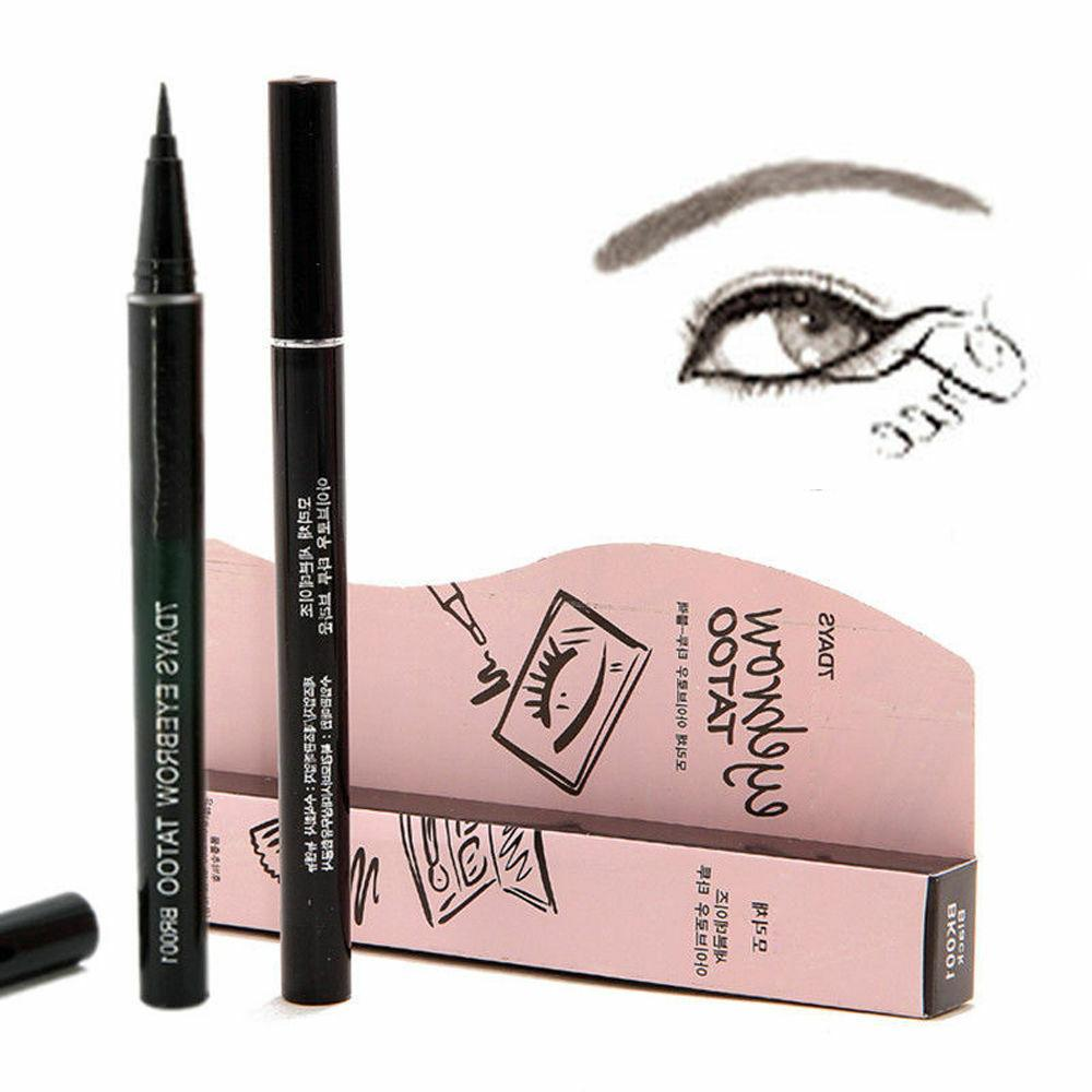 7 Days Eyebrow Tattoo Pen Pencil Liner Eye Makeup Long Lasti