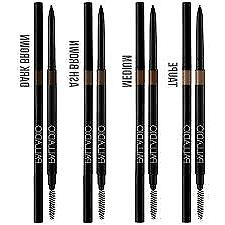 Palladio Brow Definer Pencil & Brush for Eyebrows, Choose ur