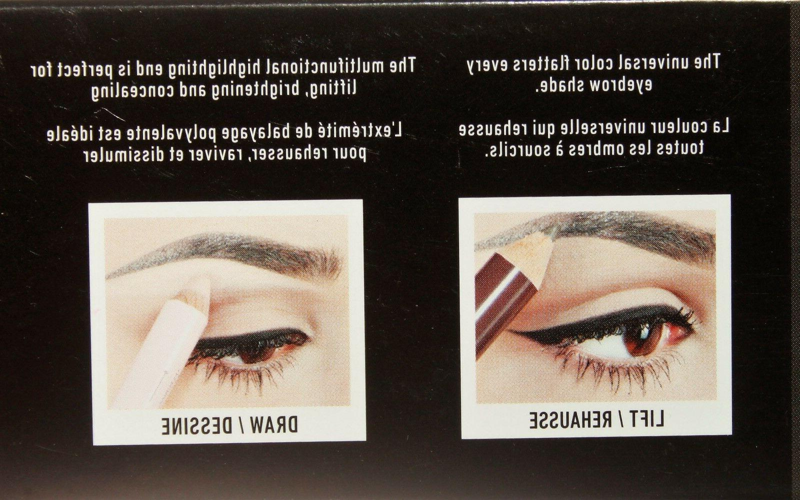 NYX Push-Up For Eyebrows Brown of 3