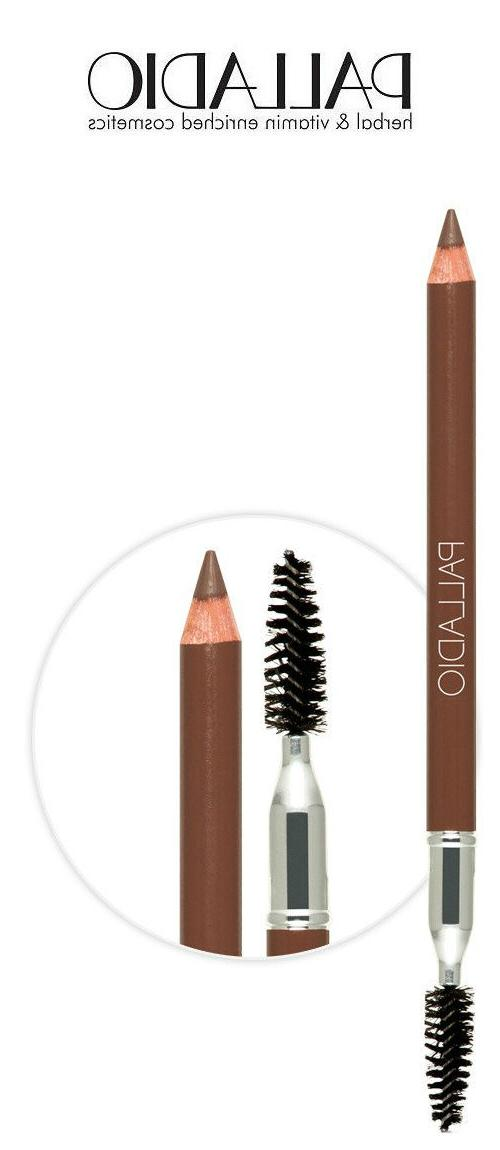 brow pencil with brush for beautiful eyebrows