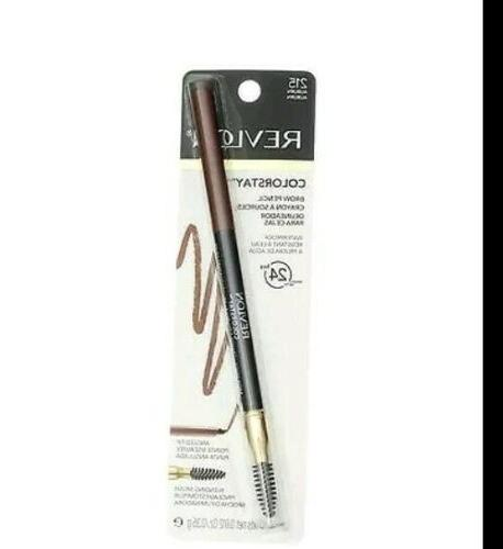 colorstay brow pencil angled tip blending brush