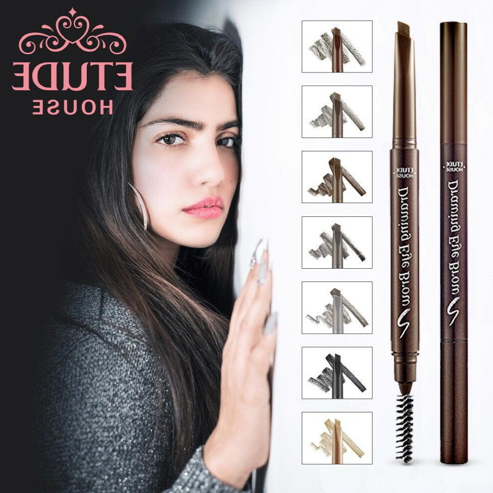 Drawing Eye Brow Natural Look Eyebrow Pencil & Brush Genuin