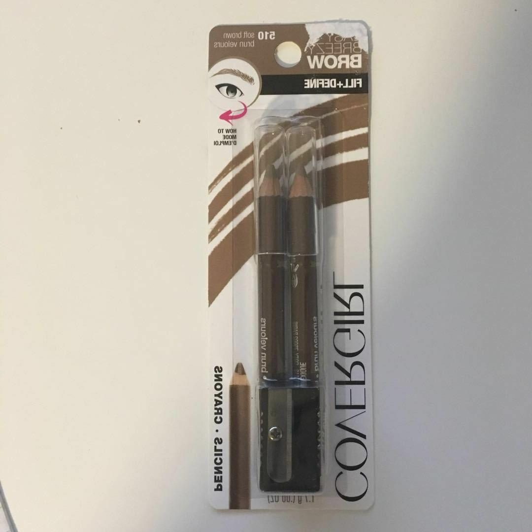 CoverGirl Easy Breeze Fill+Define Eye Brow Brown 510