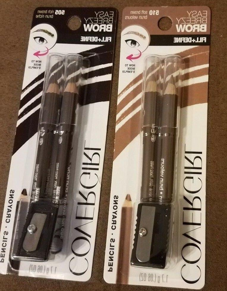 Covergirl Breezy Brow Pencils Two colors to - or