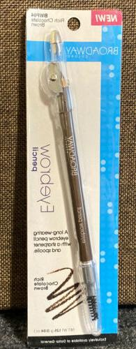 Broadway Colors Eye Brow Pencil, RICH CHOCOLATE BROWN