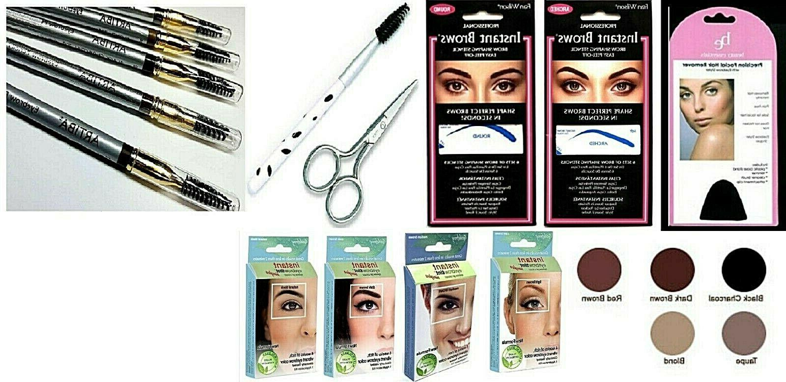 eyebrow coloring tool kit godefroy instant brows