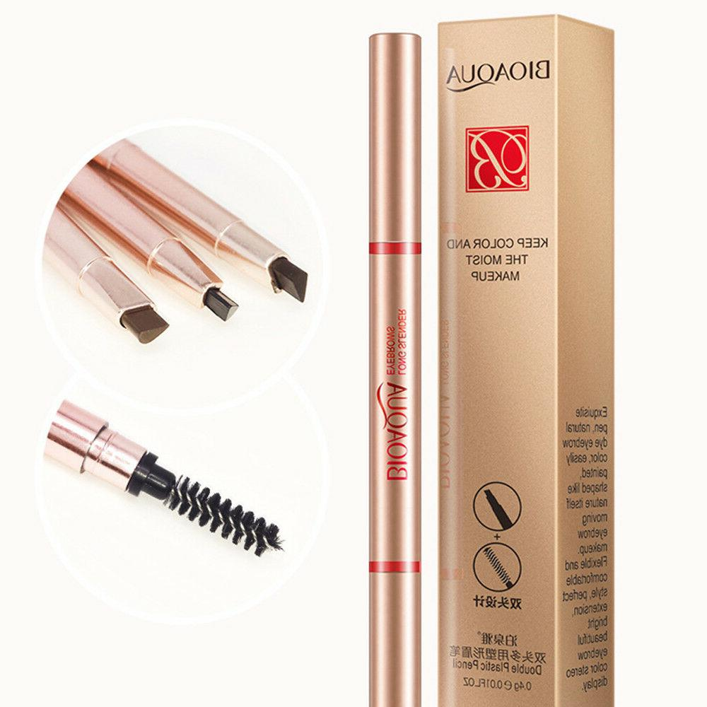 BIOAQUA Eyebrow Double Pencil Natural Keep Color Makeup