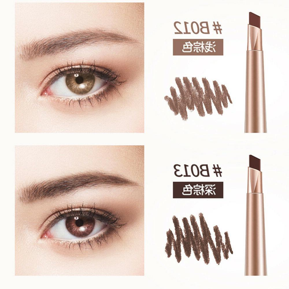 BIOAQUA Eyebrow Pencil Eyeliner Natural Color Makeup 2in1