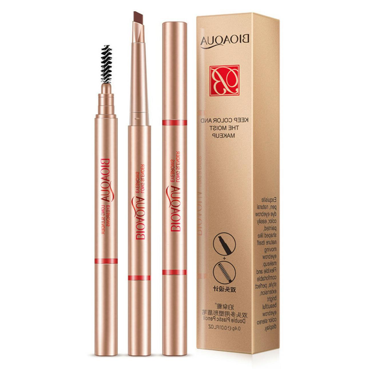eyebrow double plastic pencil eyeliner natural keep
