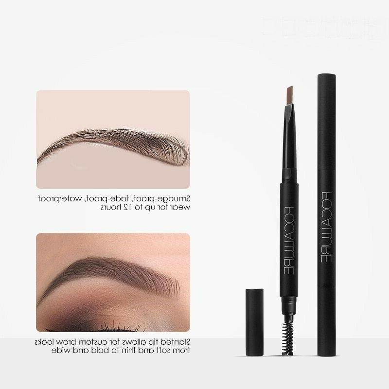 Eyebrow Pen Easy Wear Waterproof Black Gra