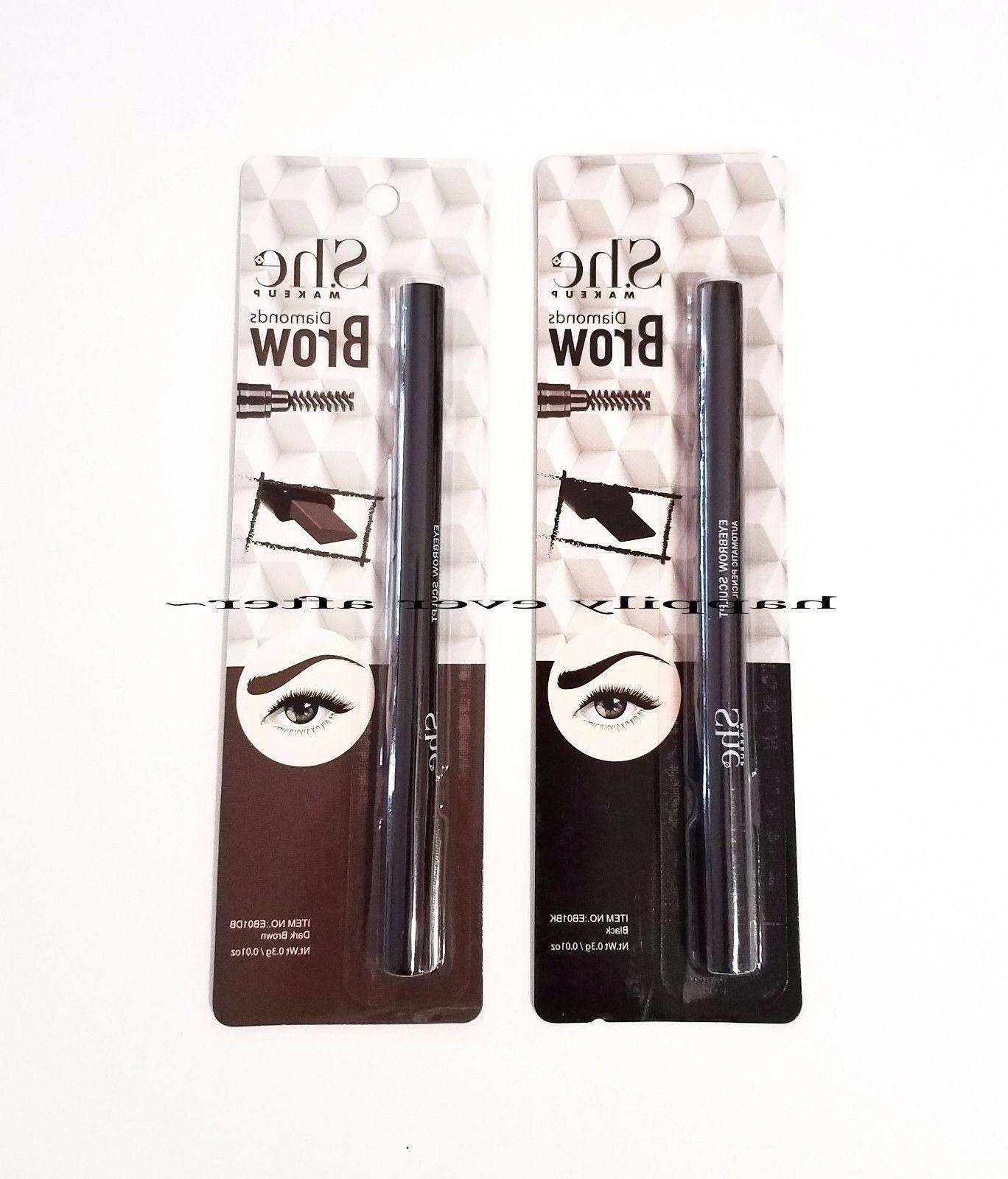 She Pencil, Eyebrow Gel - colors, you want! NEW