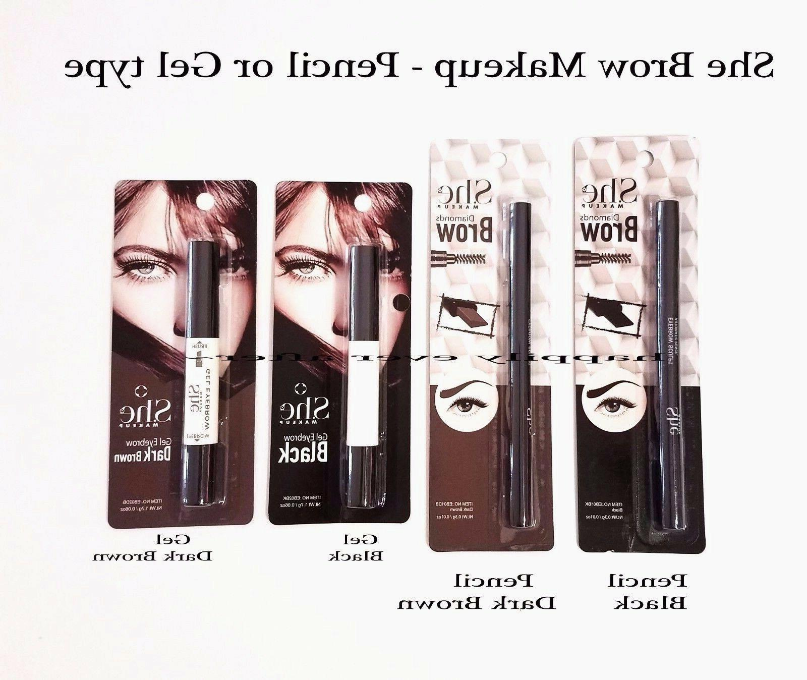 eyebrow pencil eyebrow gel collection pick colors