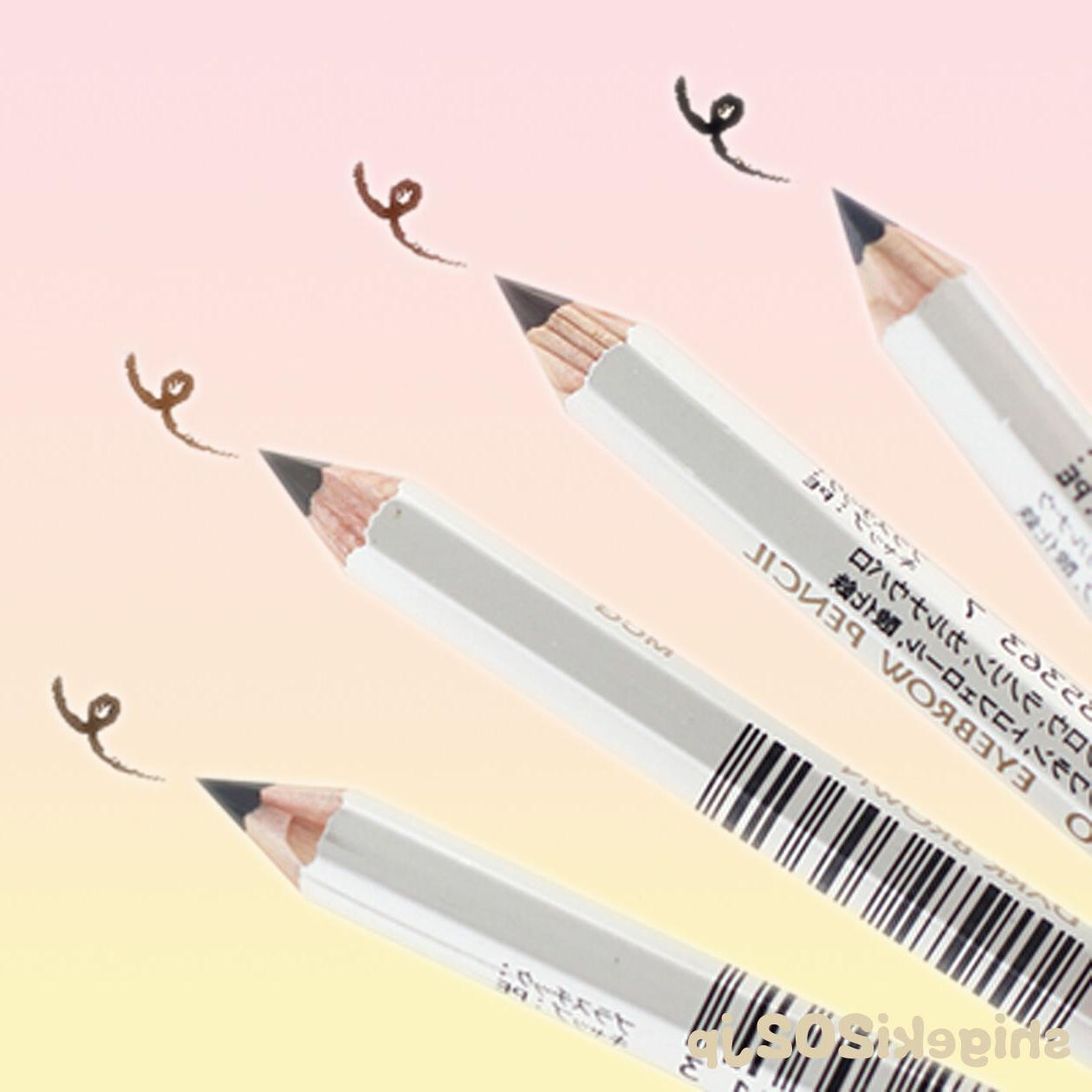 Shiseido Eyebrow Pencil Makeup Black Brown / Gray